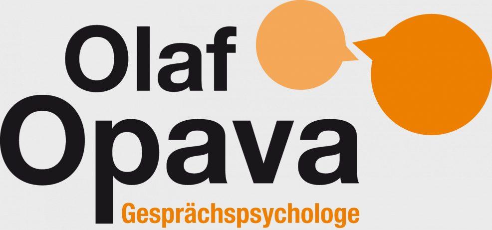 Logoentwicklung für  Gesprächspsychologe Olaf Opava