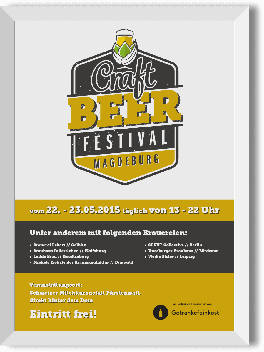 Plakat für  Craft Beer Festival