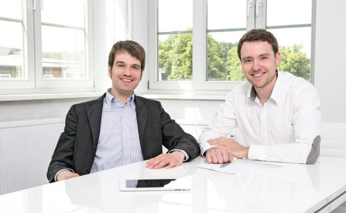 Alexander Kusserow und Jens Hummelt