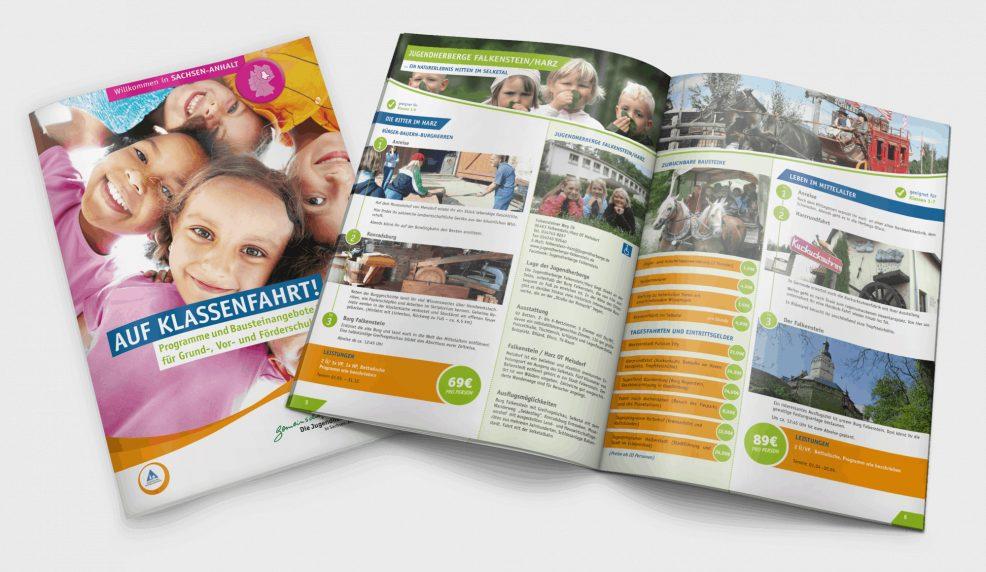 Schulfahrtenkatalog für Grundschulen 2015 für  Deutsches Jugendherbergswerk Landesverband Sachsen-Anhalt e.V.
