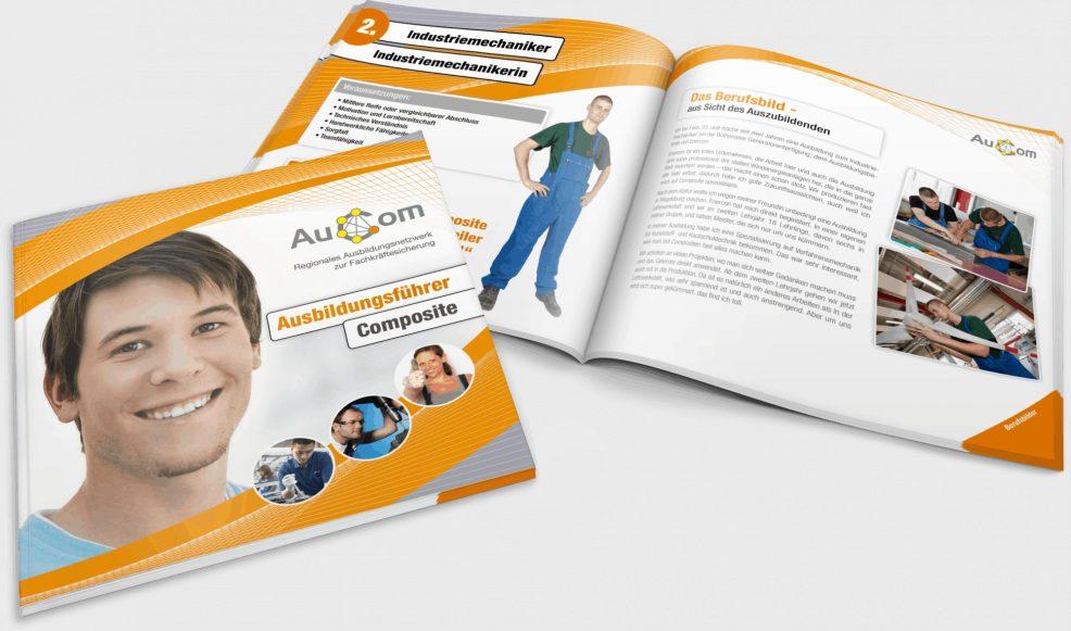 """Broschüre """"Ausbildungsführer"""" für  MA&T Mensch, Arbeit & Technik Organisationsentwicklung GmbH"""