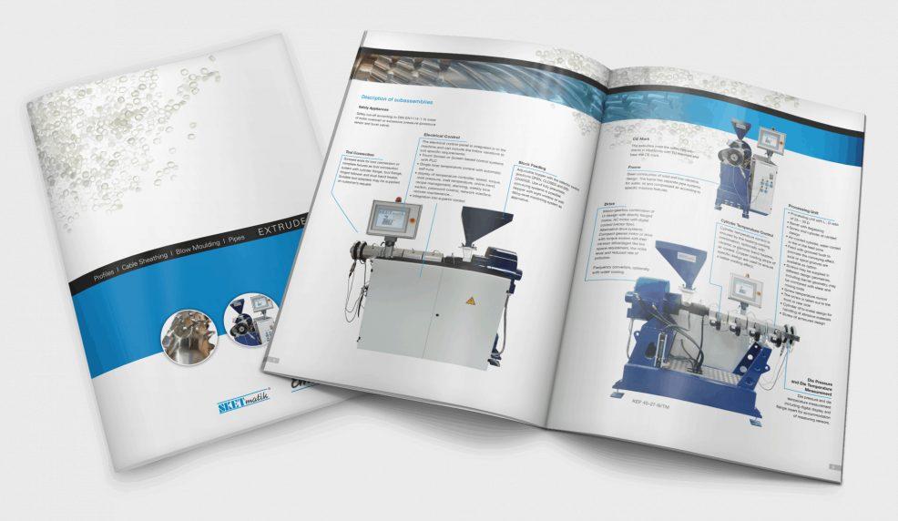 Broschüre für  Ematik GmbH