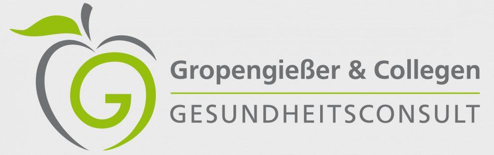 Logoentwicklung für  Gropengießer & Collegen Gesundheitsconsult