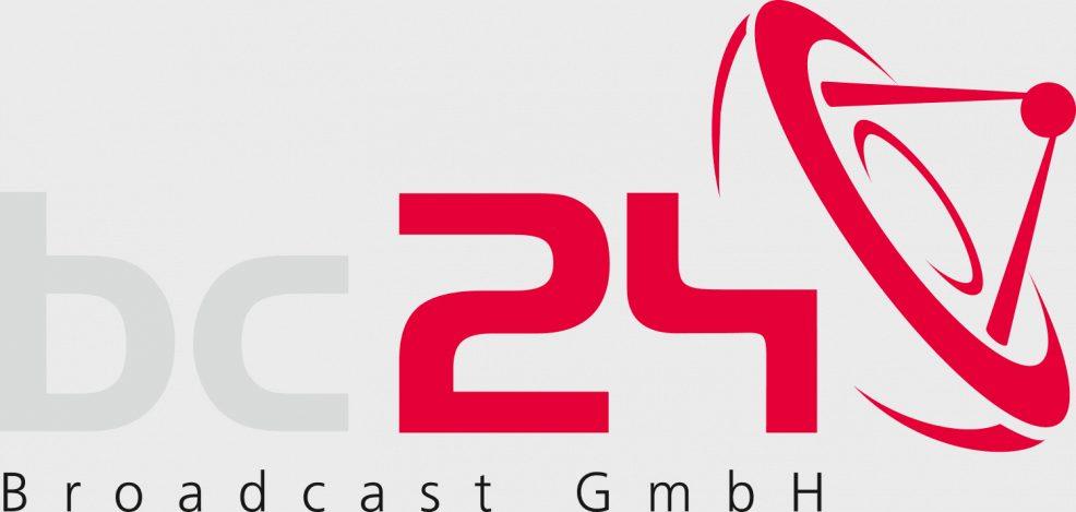 Logoentwicklung für  bc24 Broadcast GmbH