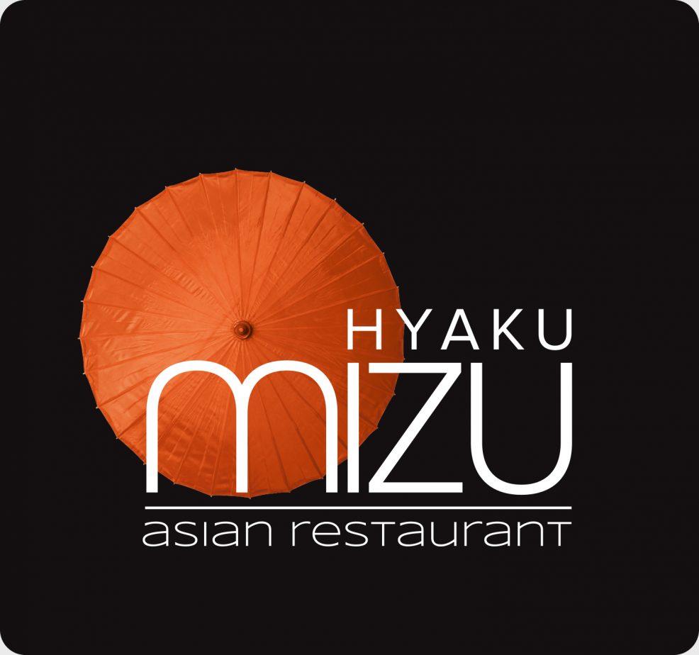 Logoentwicklung für  Hyaku Mizu Asian Restaurant