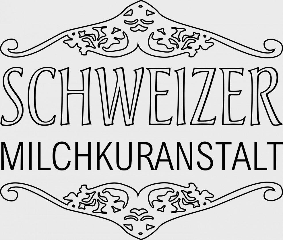 Logoentwicklung für  Schweizer Milchkuranstalt Fürstenwall Biergarten