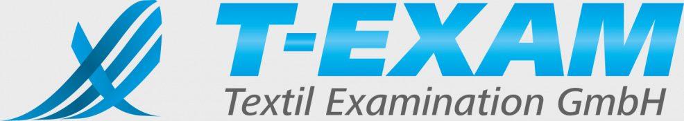 Logoentwicklung für  T-EXAM Textil Examination GmbH
