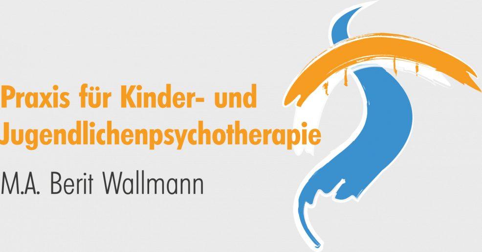 Logoentwicklung für  Praxis für Kinder- und Jugendlichenpsychotherapie, Berit Wallmann