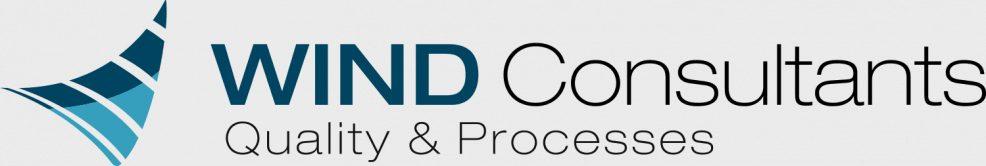 Logoentwicklung für  WIND Consultants
