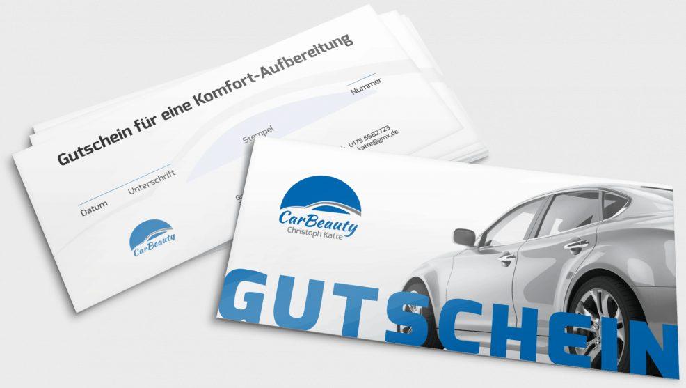 Gutschein für  CarBeauty – Christoph Katte