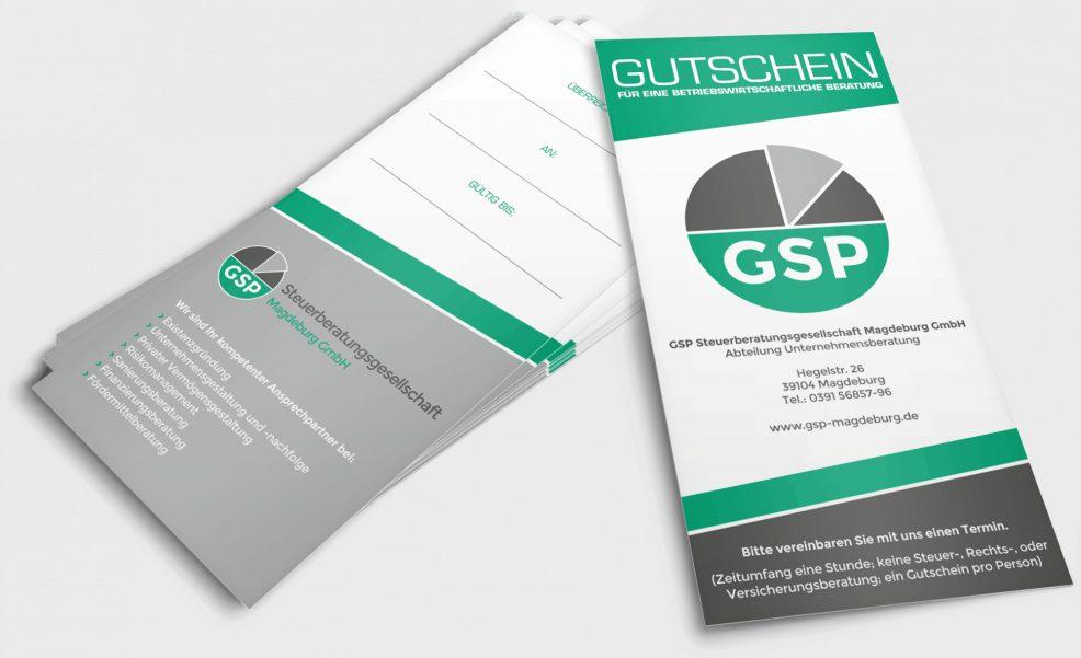 Gutschein für  GSP Steuerberatungsgesellschaft Magdeburg GmbH