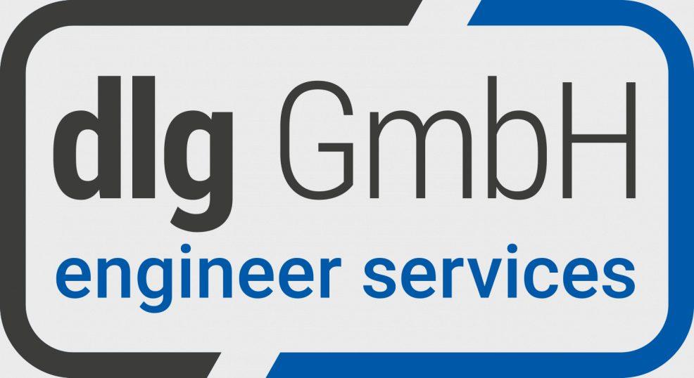 Logoentwicklung für  dlg GmbH engineer services