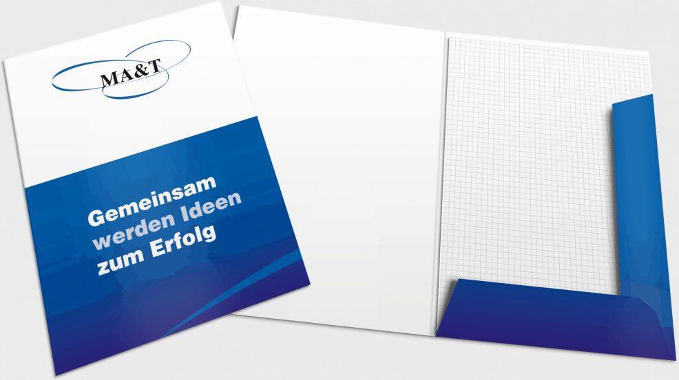 Mappe für  MA&T Mensch, Arbeit & Technik Organisationsentwicklung GmbH