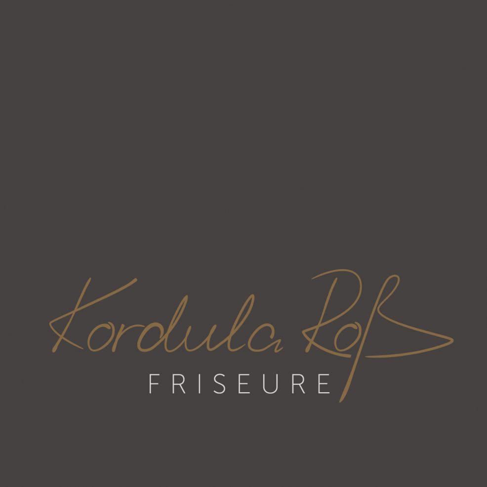 Logoentwicklung für  Kordula Roß Friseure