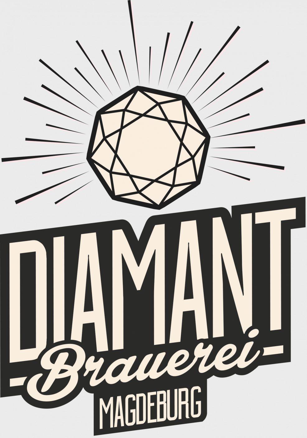 Logoentwicklung für  Privatbrauerei Diamant Magdeburg GmbH
