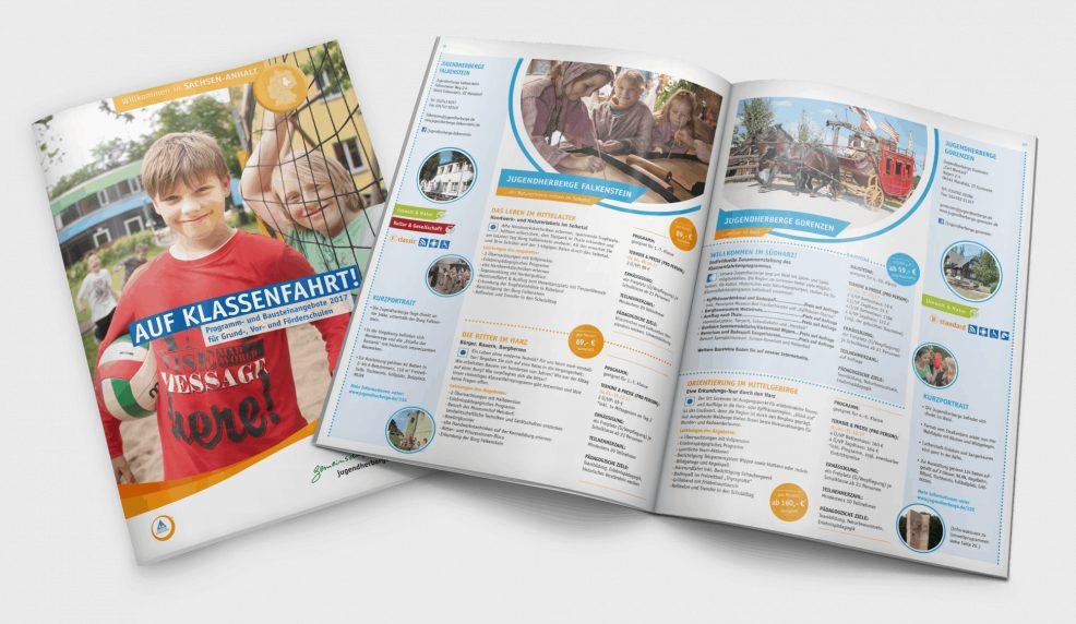 Schulfahrtenkatalog 2016 für  Deutsches Jugendherbergswerk Landesverband Sachsen-Anhalt e.V.