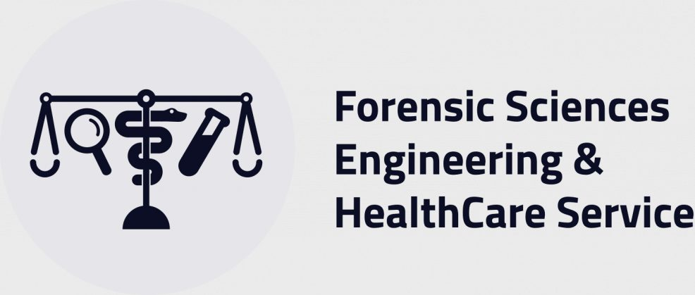 Logoentwicklung für  Forensic Sciences Engineering & HealthCare Service