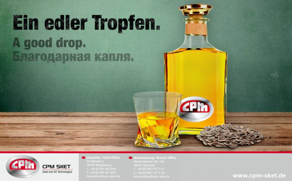 Kalendermotiv 2014 für  CPM SKET GmbH
