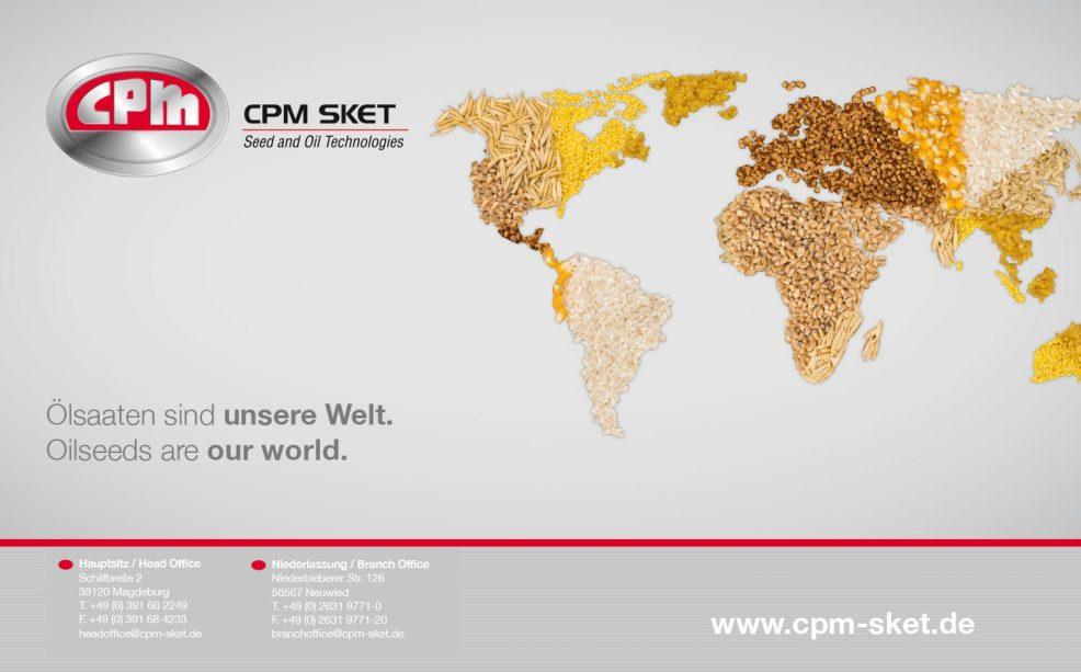 Kalendermotiv 2018 für  CPM SKET GmbH