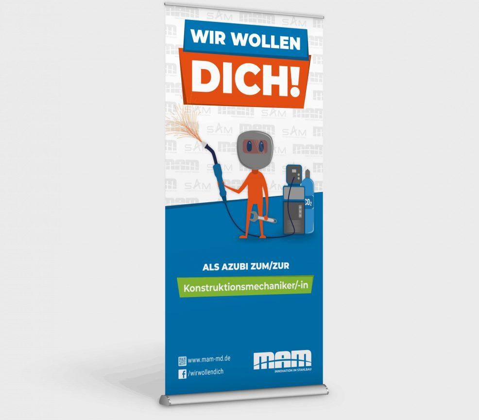 Rollup für  Maschinen- und Anlagenbau Magdeburg GmbH