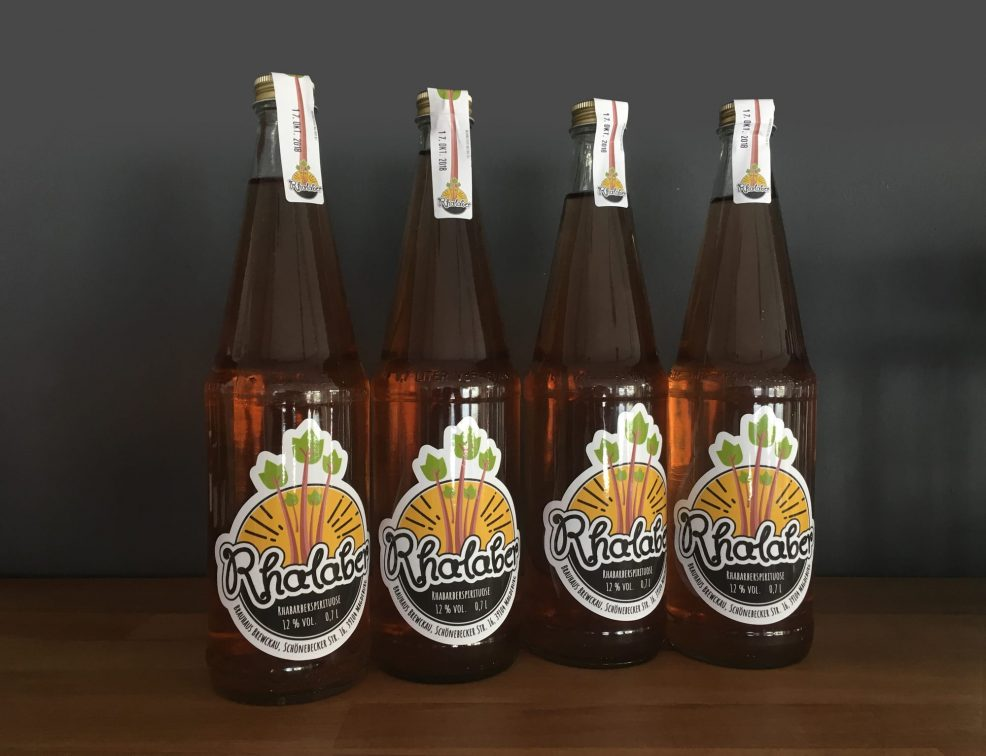 Flaschen-Etikett für  Brewckau