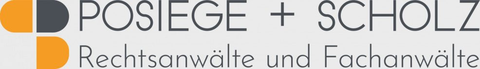 Logoentwicklung für  Rechtsanwälte und Fachanwälte Posiege & Scholz