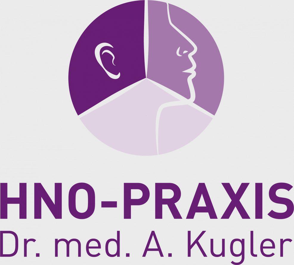 Logoentwicklung für  HNO Praxis Dr. med. A. Kugler
