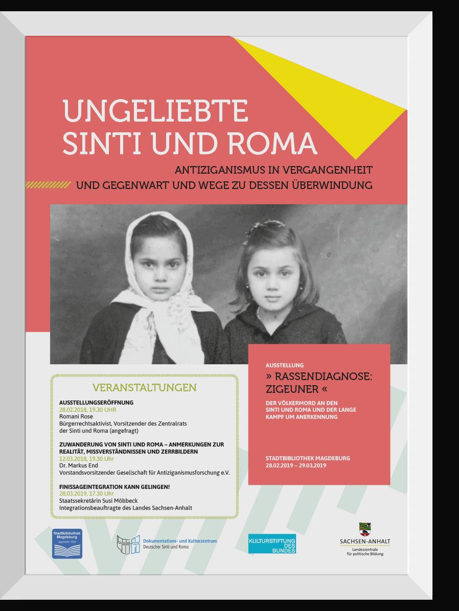 Plakate für  Landeszentrale für politische Bildung Sachsen-Anhalt