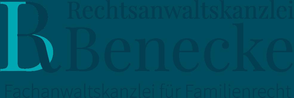 Logoentwicklung für  Rechtsanwaltskanzlei Benecke