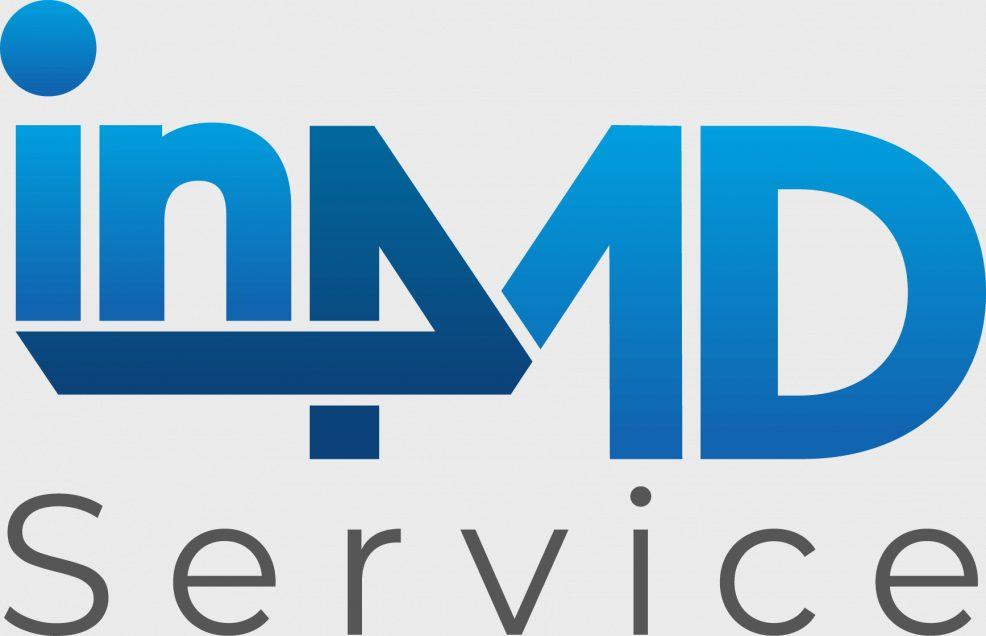 Logoentwicklung für  in4MD Service GmbH