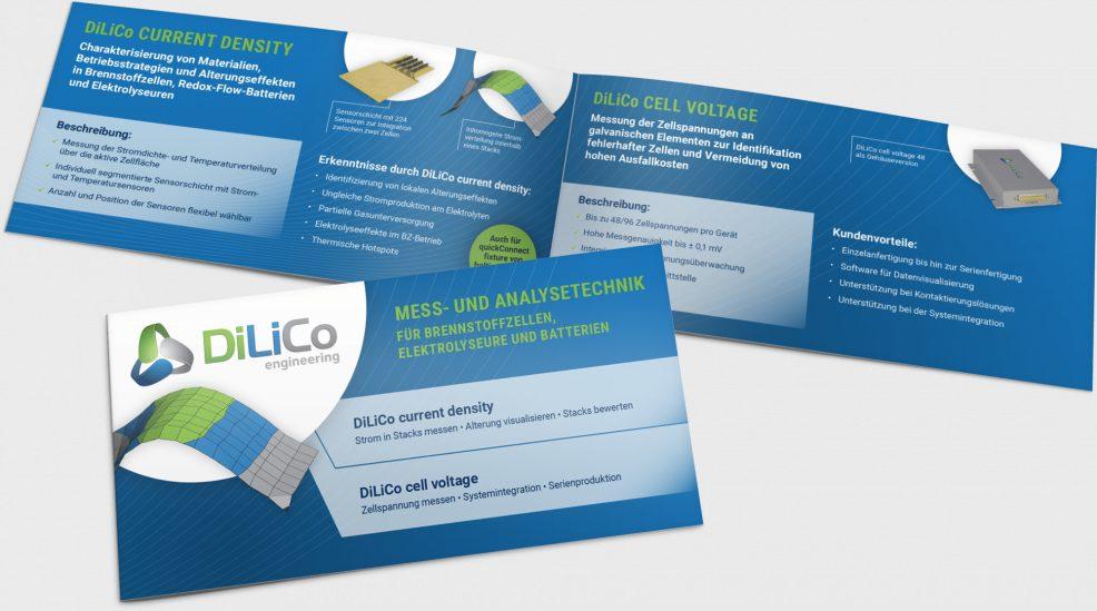 Flyer für  DiLiCo engineering GmbH
