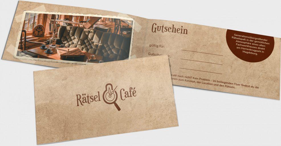 Gutschein für  RätselCafé Magdeburg