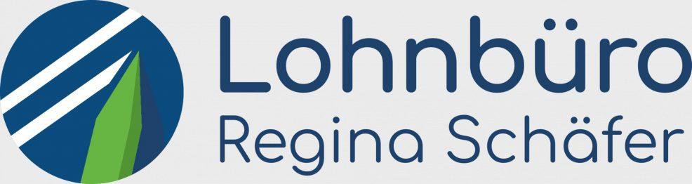 Logoentwicklung für  Lohnbüro Regina Schäfer