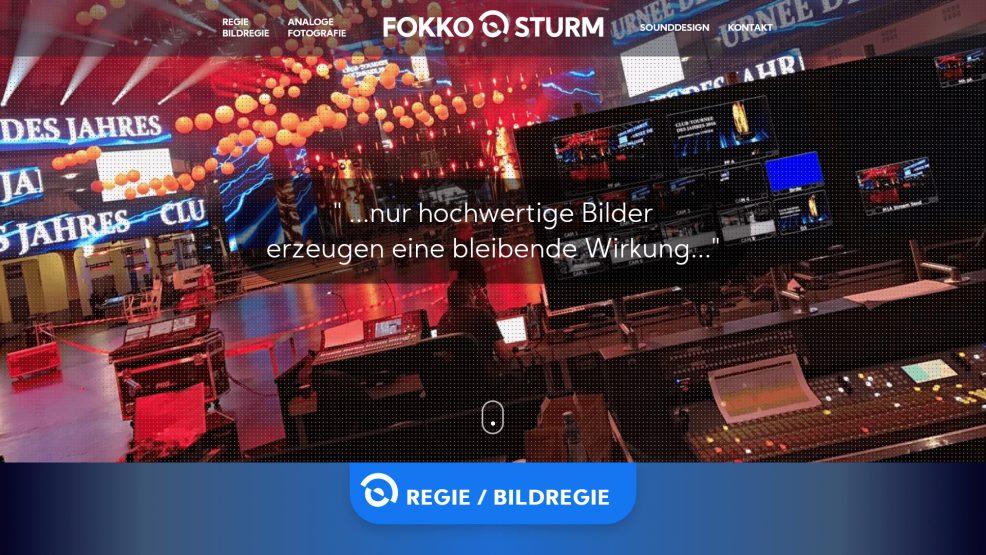 Website für  Fokko Sturm