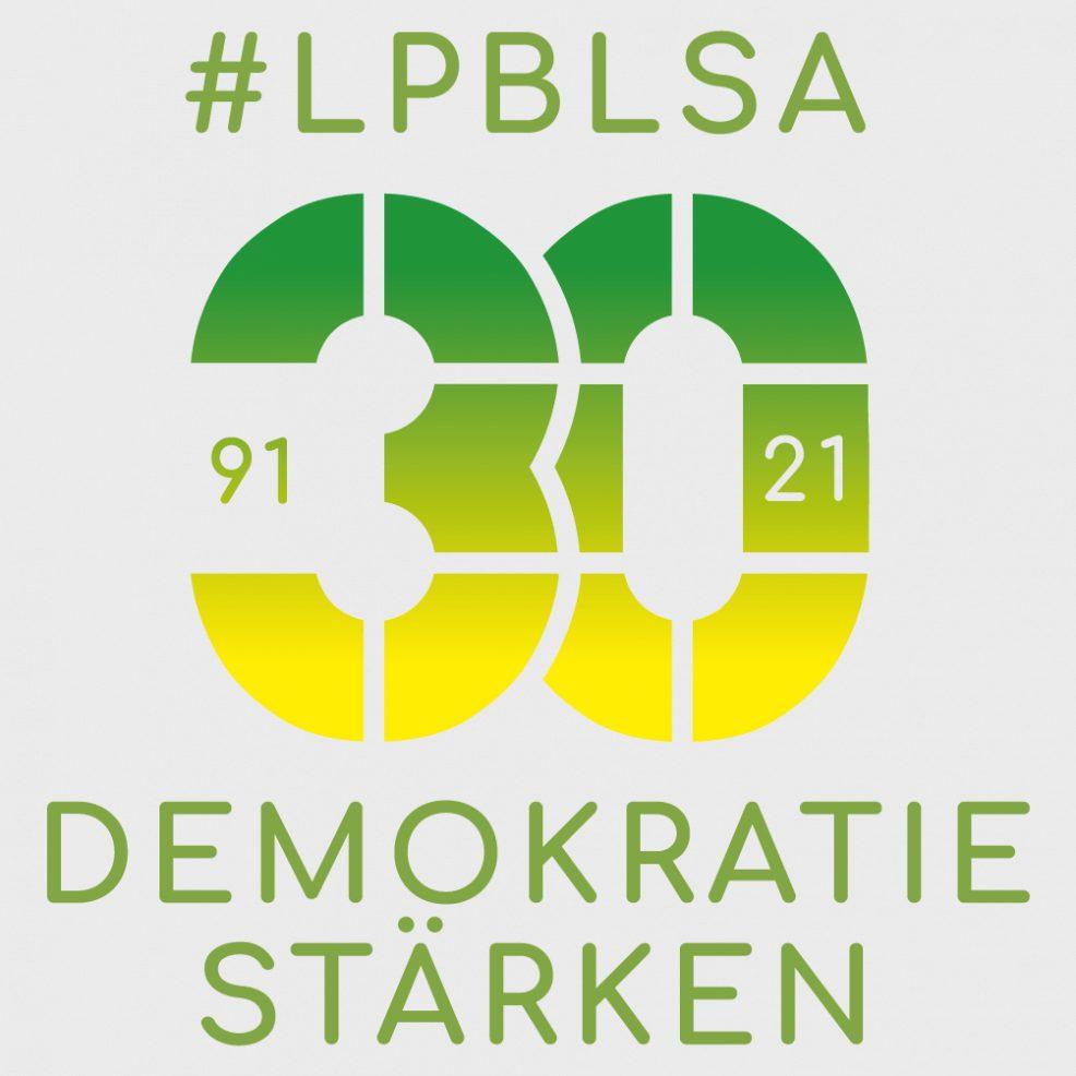 Logoentwicklung für  Landeszentrale für politische Bildung Sachsen-Anhalt