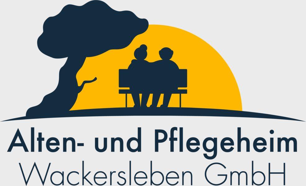Logoentwicklung für  Alten- und Pflegeheim Wackersleben GmbH