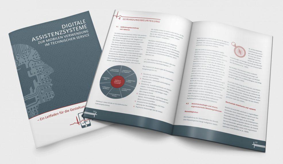 Broschüre für  Fraunhofer-Institut für Fabrikbetrieb und -automatisierung IFF